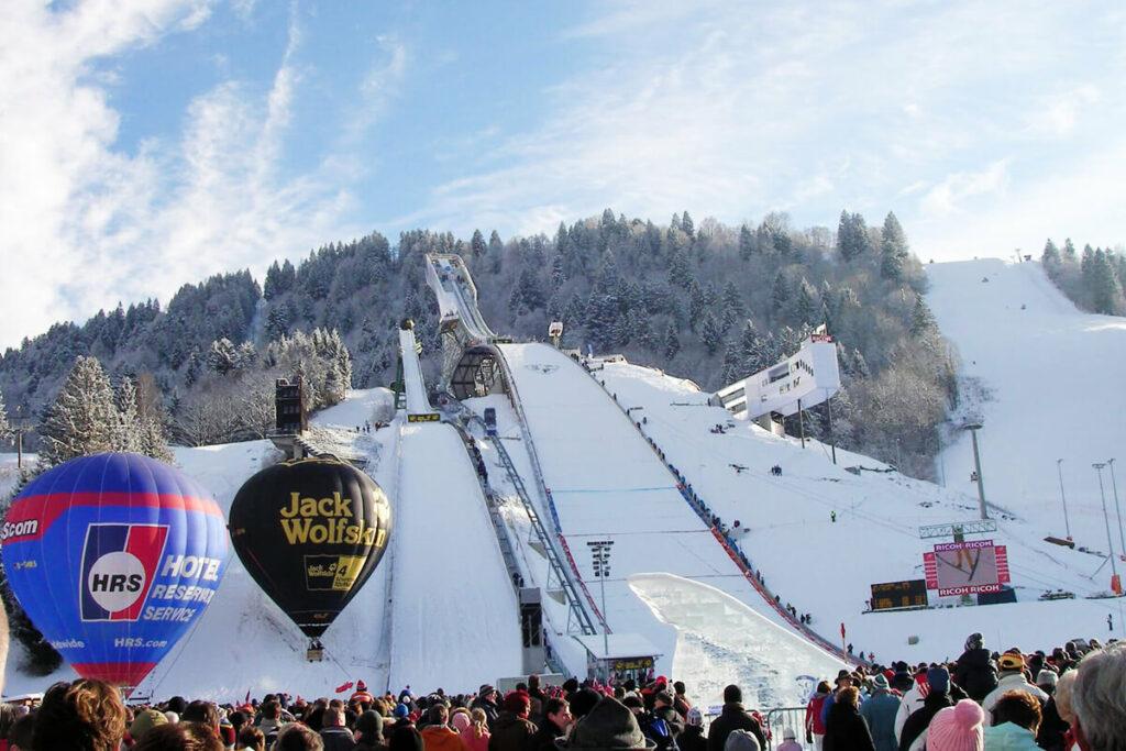 Neujahrsskispringen Garmisch