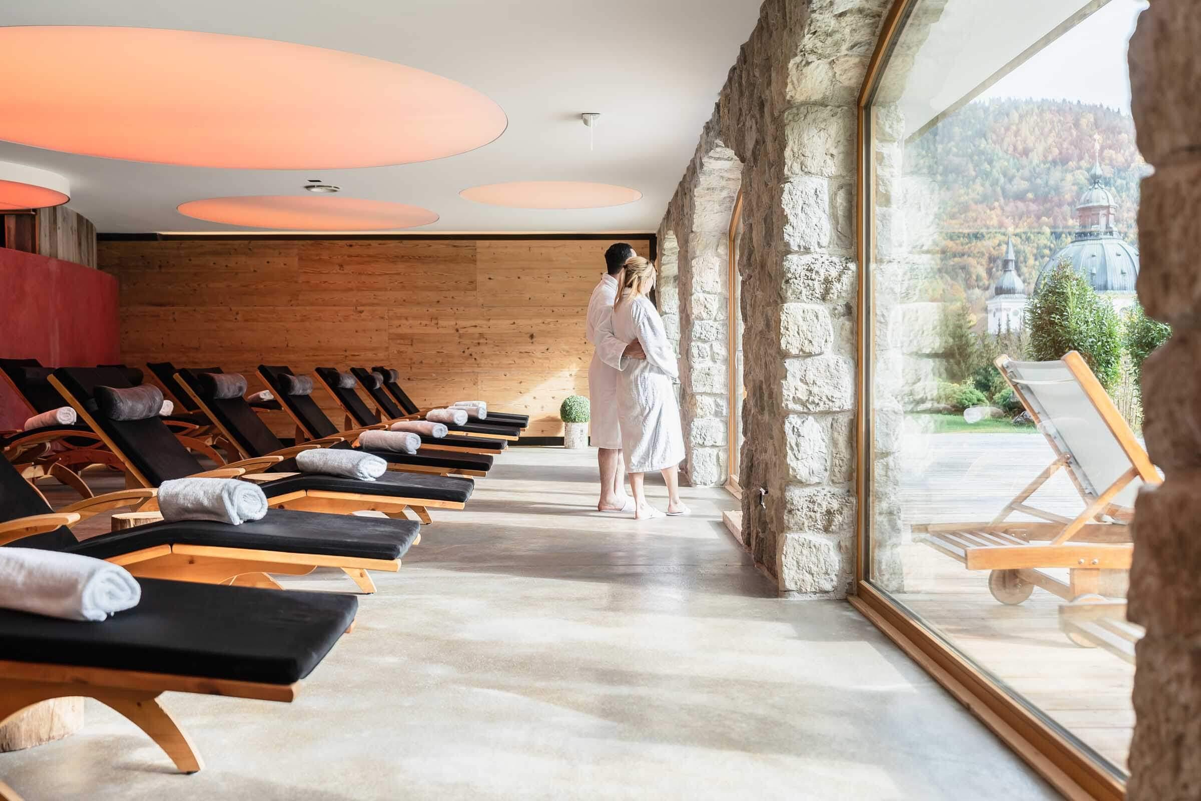 Wellnessbereich Hotel Blaue Gams