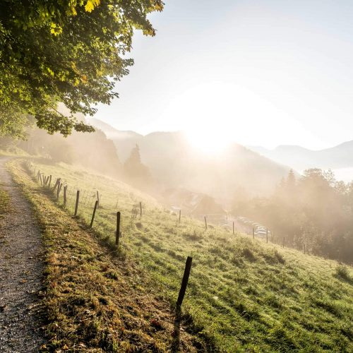 Hiking paths in the Ammergau Alps